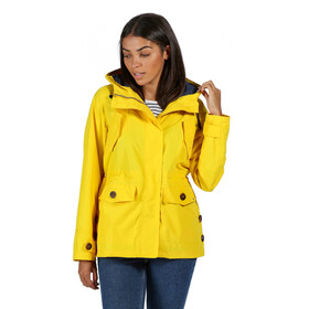 Regatta Ninette Waterproof Shell Jacke Damen yellow sulphur